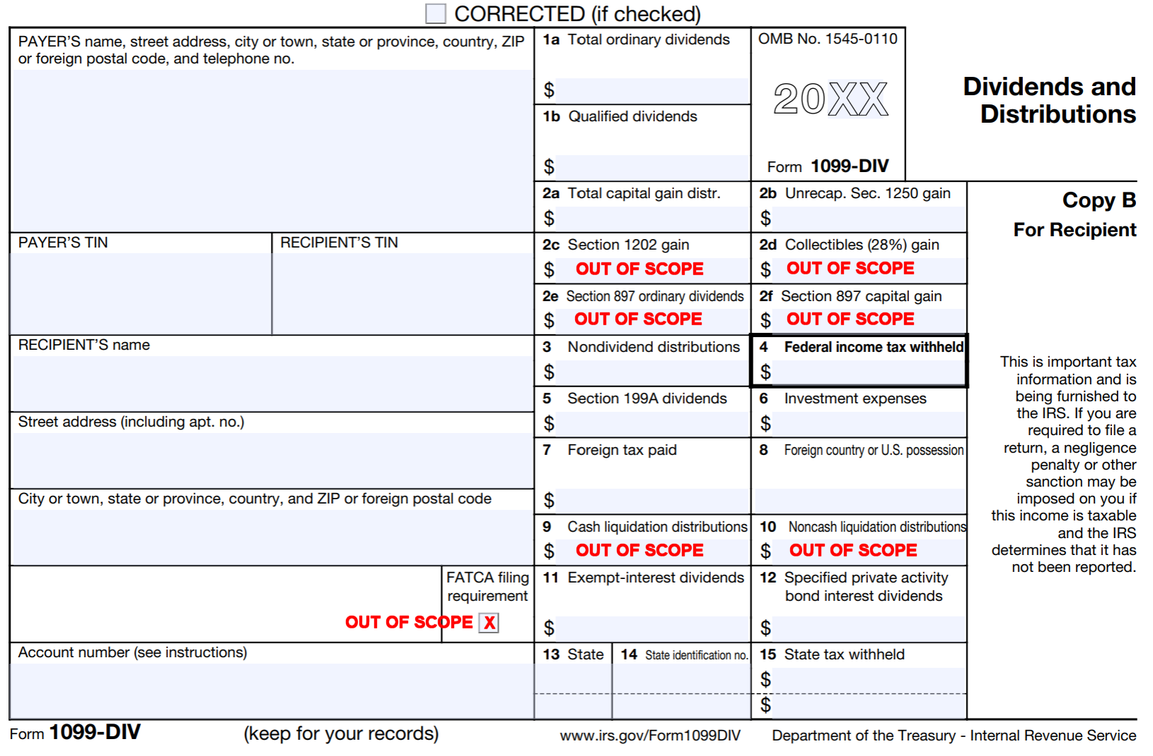 Form 1099 Div Colorado Tax Aide Resources
