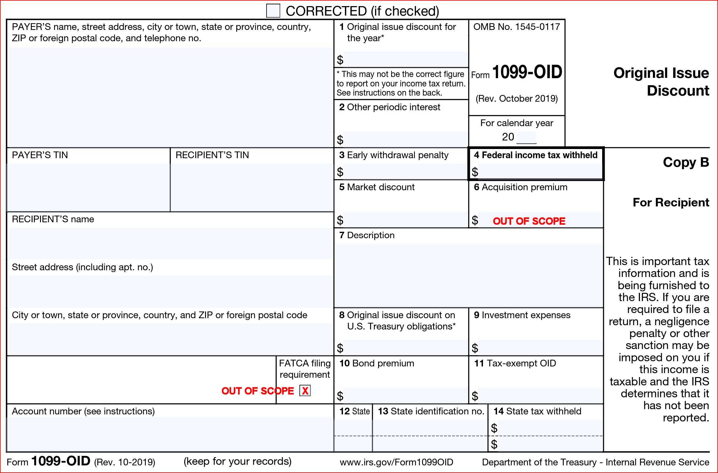 Form 1099-OID | Colorado Tax-Aide Resources